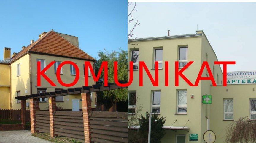 Komunikat Burmistrza Siechnic  w sprawie funkcjonowania ośrodków zdrowia na terenie gminy Siechnice