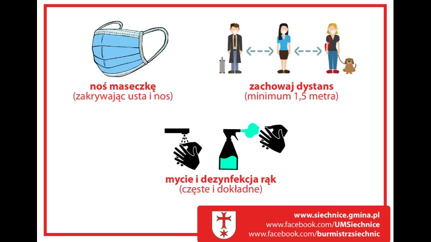 """Od dzisiaj Gmina Siechnice w """"żółtej strefie"""""""