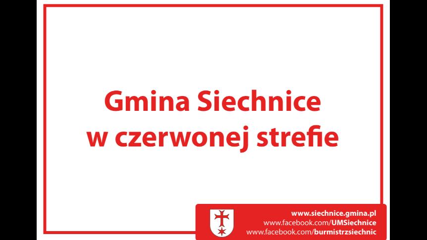 """Gmina Siechnice w """"czerwonej strefie"""""""