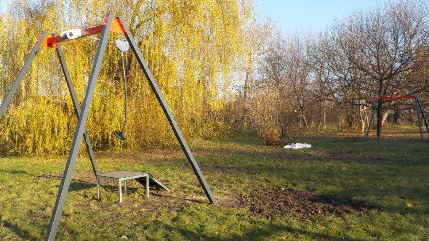 Święta Katarzyna: w parku przy placu zabaw stanęła nowa atrakcja