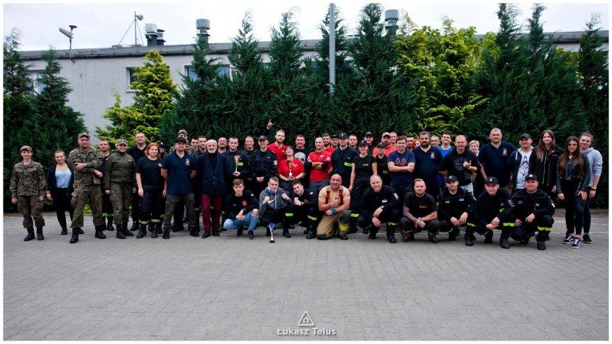 Uczestnicy III manewrów Ratowniczych w Św. Katarzynie