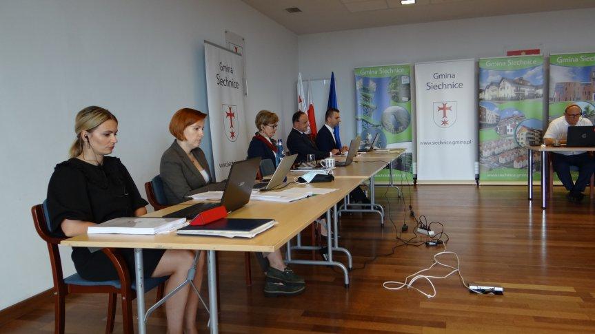 Sesja absolutoryjna Rady Miejskiej w Siechnicach